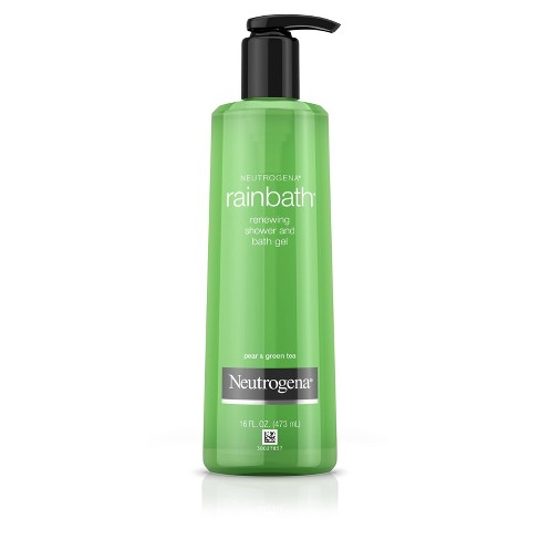 Neutrogena Rainbath Renewing Shower And Bath Gel Pear & Green Tea - 16 fl oz - image 1 of 4