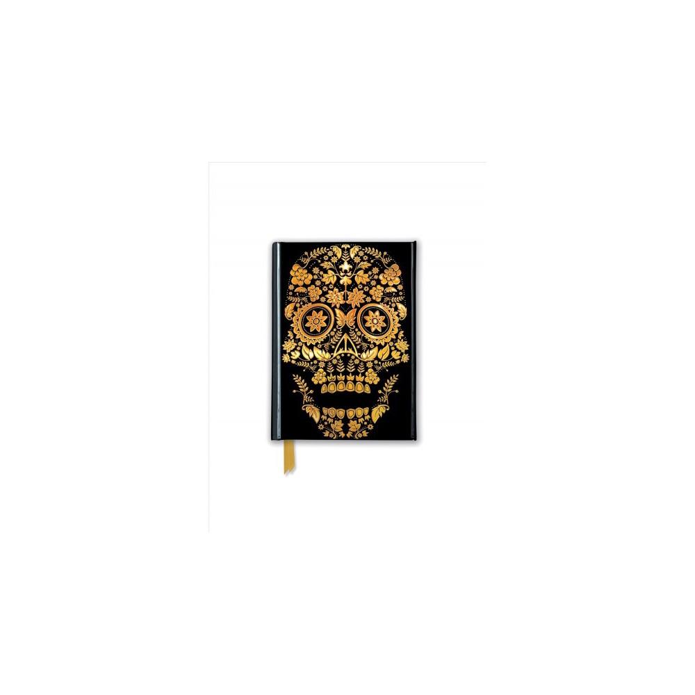 Gold Sugar Skull Foiled Journal - (Flame Tree Pocket Books) (Hardcover)