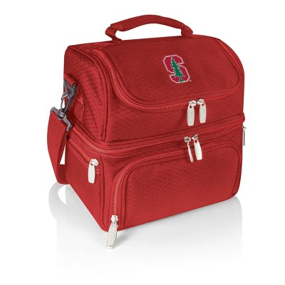 NCAA Stanford Cardinal Pranzo Dual Compartment Lunch Bag - Red