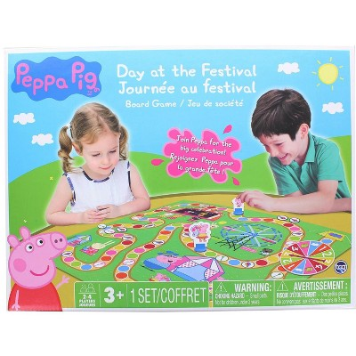 The Canadian Group Peppa Pig Day At The Festival Board Game   For 2-4 Players