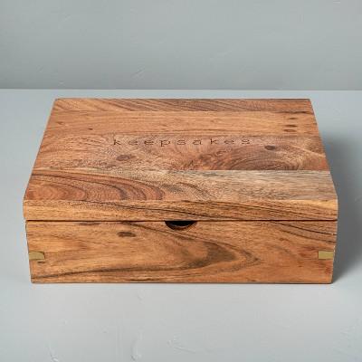 Wood 'Keepsakes' Box - Hearth & Hand™ with Magnolia