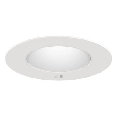 "5"" x 6"" LED Recessed Wellness Downlight Pendant White - Brilli"