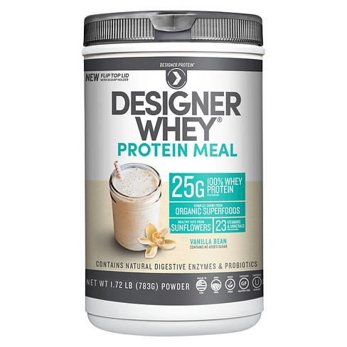 Designer Whey Protein Meal - Vanilla Bean - 1.72lbs - image 1 of 1