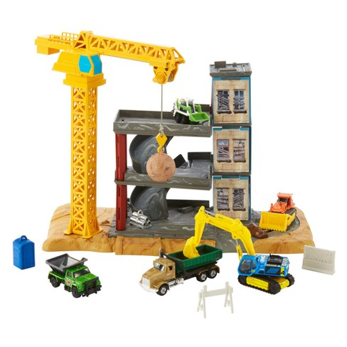 Matchbox Downtown Demolition Playset - image 1 of 18