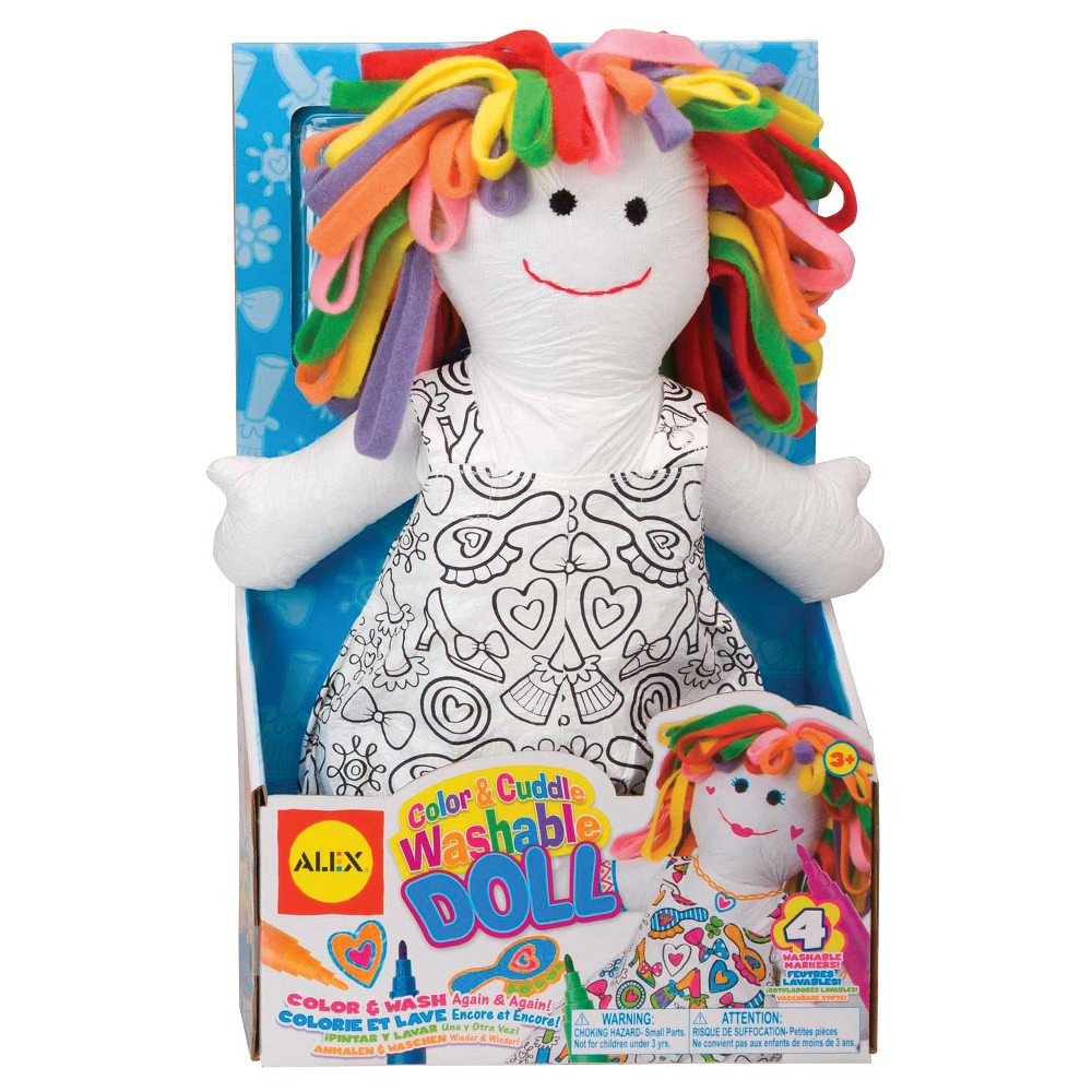 Image of ALEX Toys Craft Color and Cuddle Washable Doll