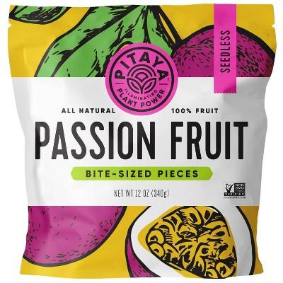 Pitaya Plus Frozen Seedless Passion Fruit Cubes - 12oz