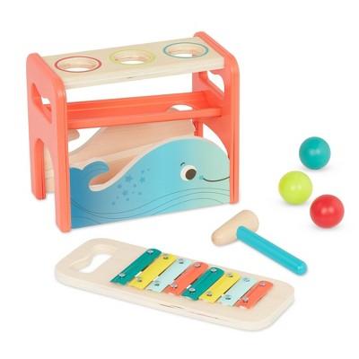 B. toys - Pounding Bench & Xylophone - Xylo-Pound Whale