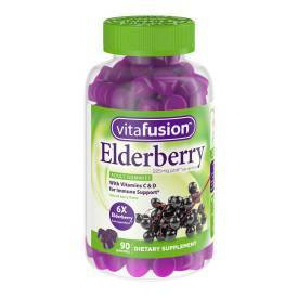 Vitafusion Elderberry Gummy - 60ct