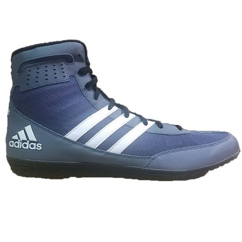 save off 67950 6a7cd Adidas Mens Mat Wizard DT Wrestling Shoes - GrayBlack
