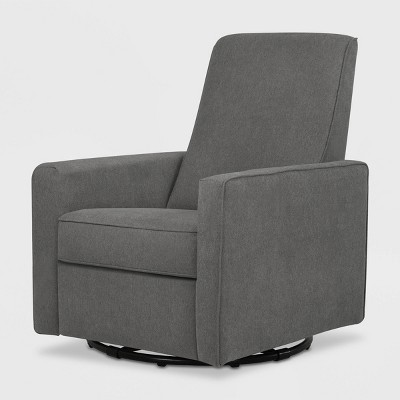 DaVinci Piper Recliner and Swivel Glider - Dark Gray