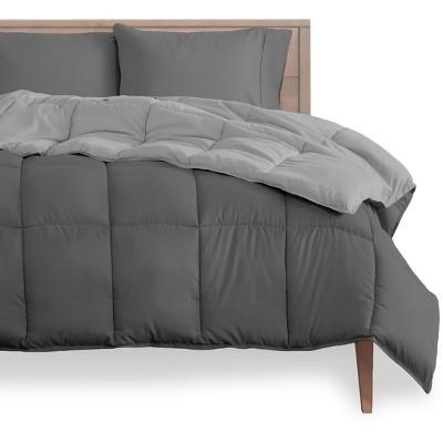 Bare Home Reversible Microfiber Comforter