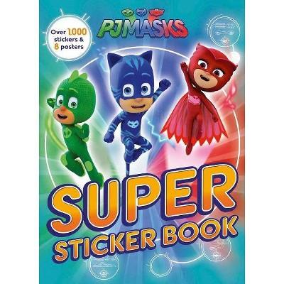 Super Sticker Book - (Pj Masks) (Paperback) - By PJ Masks : Target