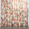 Tropical Floral Sheer Window Curtain Panels - Opalhouse™ - image 3 of 4