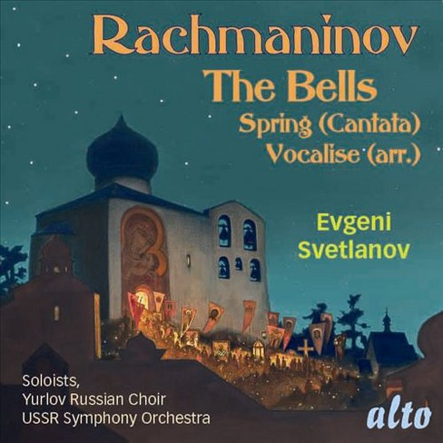 Ussr symphony orches - Rachmaninov:Cantatas bells op 35/Spri (CD) - image 1 of 1
