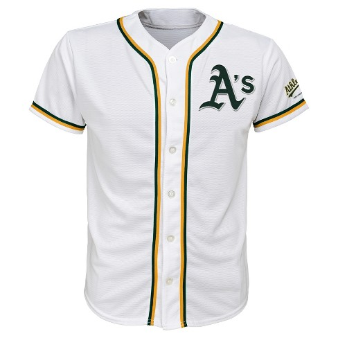 a50cf672c MLB Oakland Athletics Boys' White Team Jersey : Target