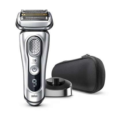 Braun Series 9 Men's Rechargeable Wet & Dry Cordless Electric Foil Shaver with Stand 9330s