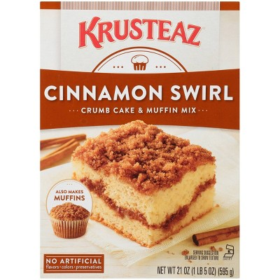 Krusteaz Cinnamon Crumb Cake & Muffin Mix -21oz