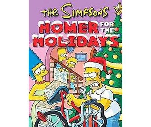 Simpsons : Homer for the Holidays (Reprint) (Paperback) (Matt Groening) - image 1 of 1