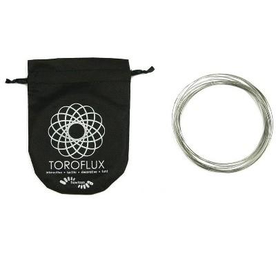Flowtoys ToroFlux Interactive Kinetic Sculpture Metal Spring Flow Toy