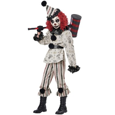 California Costumes Creeper Clown Child Costume, Medium