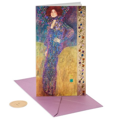 Papyrus Womens In Blue Birthday Card