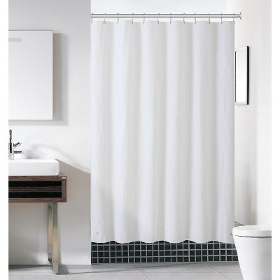 Kate Aurora Hotel Heavy Duty 10 Gauge Vinyl Shower Curtain Liners