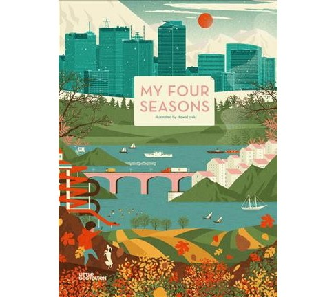 My Four Seasons (Hardcover) (Dawid Ryski & Amy Visram) - image 1 of 1