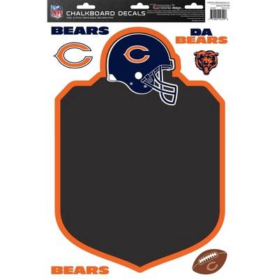 NFL Chicago Bears Chalkboard Decals