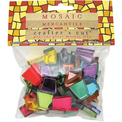 Crafter's Cut Mosaic Tiles .5lb-Assorted Mirrors
