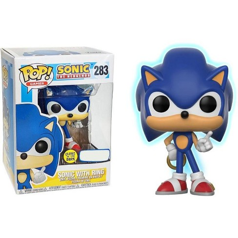 Funko Sonic The Hedgehog Pop Games Sonic With Ring Vinyl Figure 283 Glow In The Dark Target