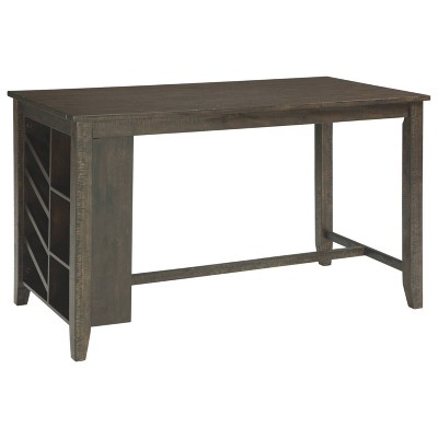 Rokane Counter Height Dining Room Table Brown - Signature Design by Ashley