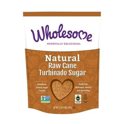 Sugar & Sweetener: Wholesome Raw Cane Turbinado Sugar