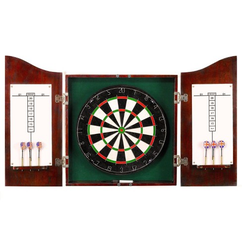 Hathaway Centerpoint Solid Wood Dartboard and Cabinet Set - image 1 of 4