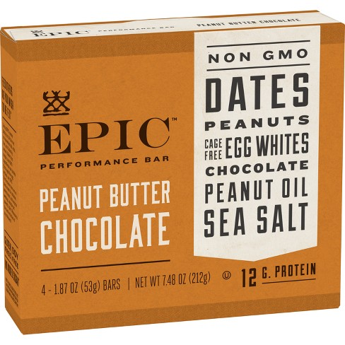EPIC Peanut Butter Chocolate Bars - 7.48oz - image 1 of 3