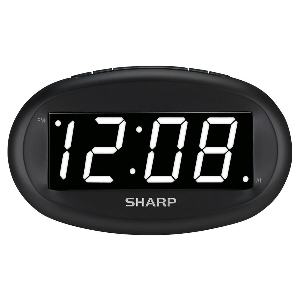 Image of Sharp Large Display Digital Alarm Clock