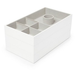 Avante Accessory Trays 3 Set White - Loft by Umbra™