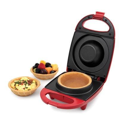 Salton Waffle Bowl Maker - Red