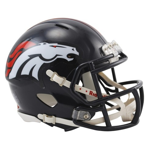 Denver Broncos Riddell Speed Mini Helmet - Navy - image 1 of 1
