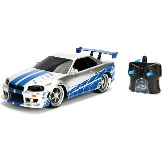 The Fast and the Furious Radio Control RC Vehicle - 2002 Nissan Skyline GT-R - 1:16 Scale