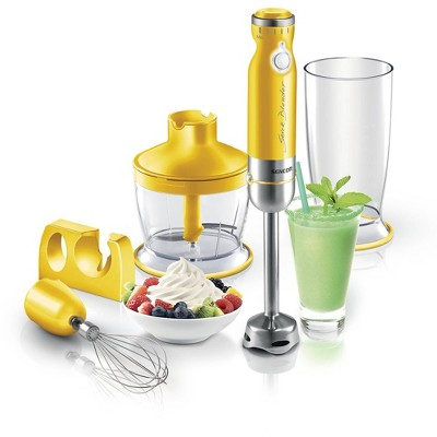 Sencor 6-Speed Stick Blender with Accessories - Yellow
