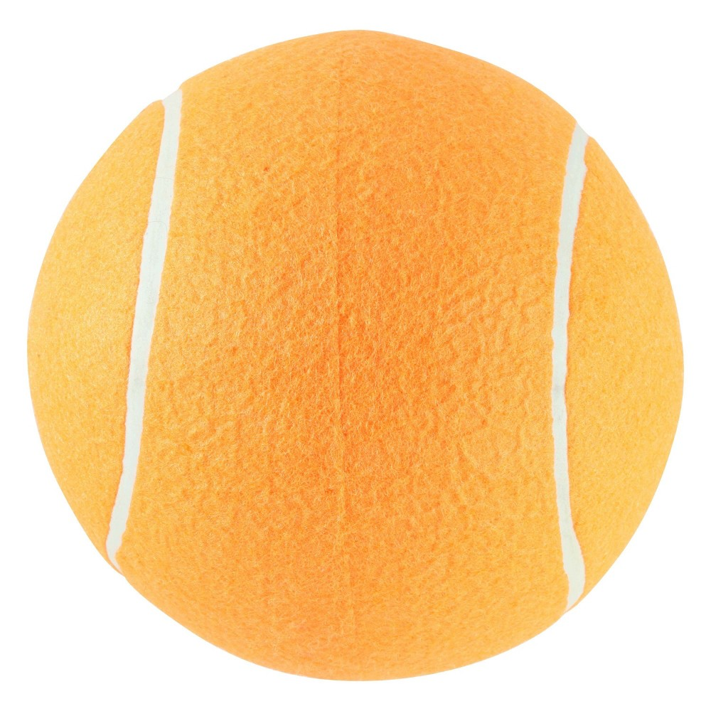 Imperial Toys Jumbo Tennis Ball - Orange, Orange Sorbet Oversize Giant Tennis Ball for Children, Adults and Pet Fun. Ball measures approximately 8 inches round. Color: Orange Sorbet. Gender: Unisex.