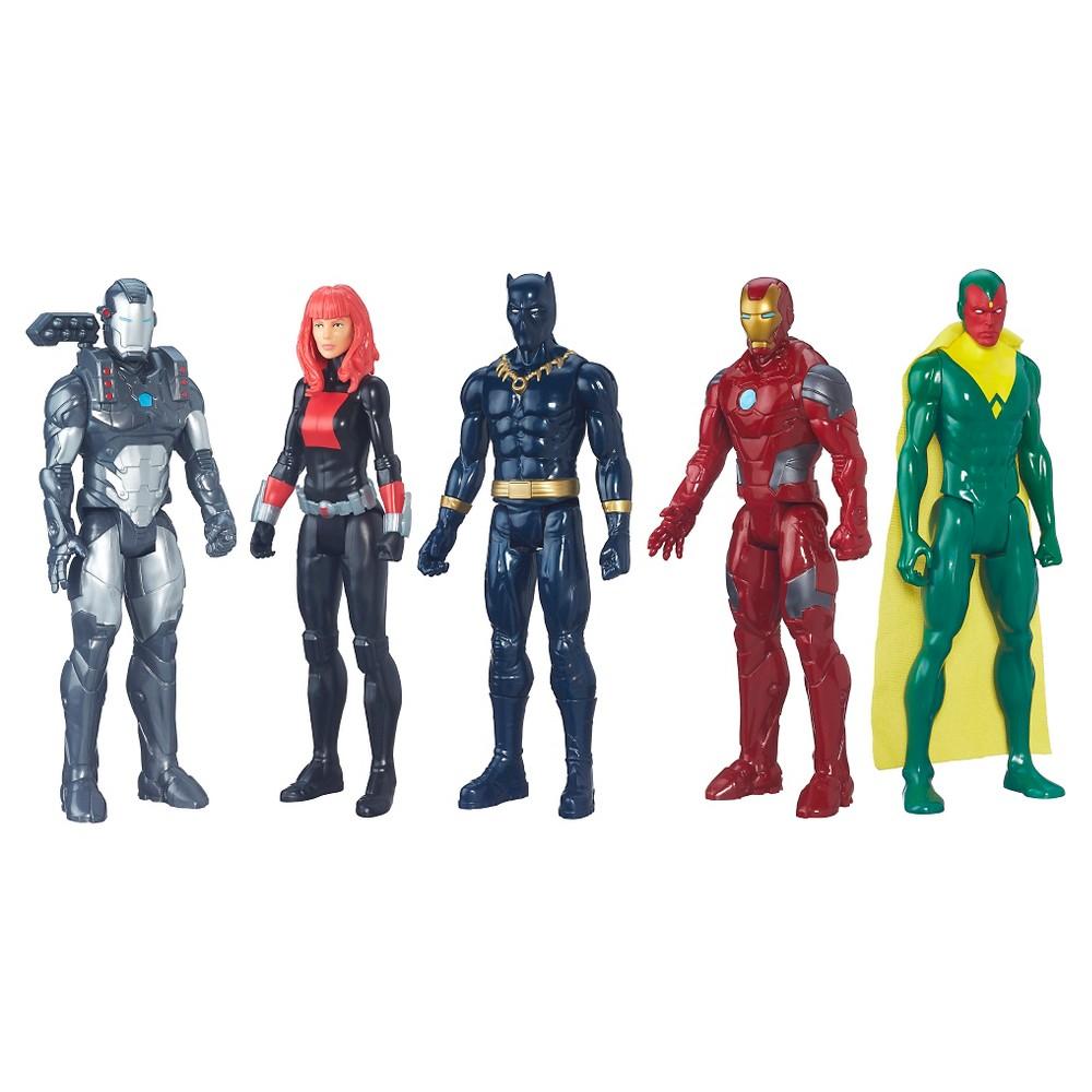 Marvel Titan Hero Series Iron Man 5 Pack
