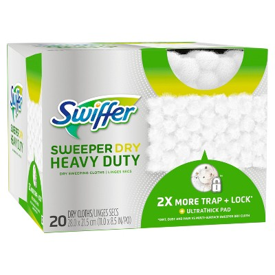 Swiffer Sweeper Heavy Duty Dry Sweeping Cloths - 20ct