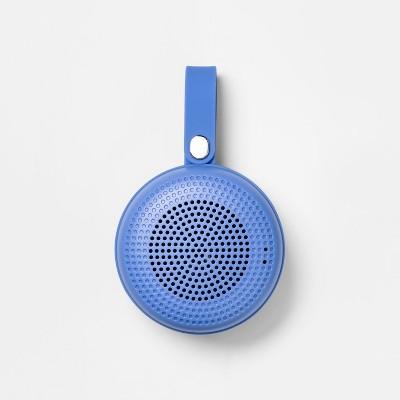 heyday™ Round Portable Bluetooth Speaker with Loop - Bicycle Blue