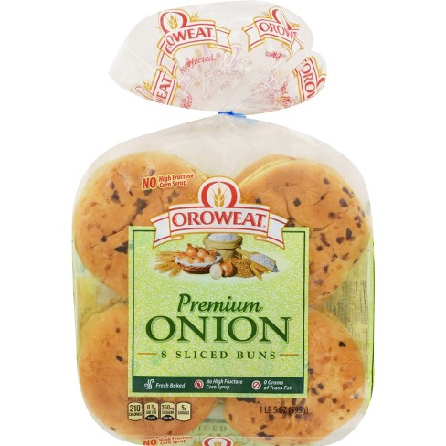 Oroweat Premium Onion Buns - 8ct/21oz - image 1 of 1