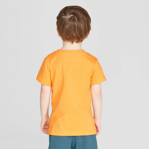 ed12952a0 Toddler Boys' Short Sleeve Let's Root For Eachother T-Shirt - Cat & Jack™  Orange
