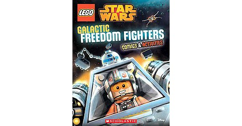 Galactic Freedom Fighters : Comics & Activities (Paperback) - image 1 of 1
