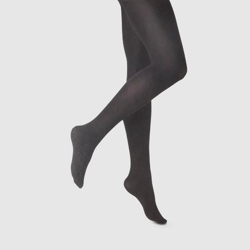 0bbcebaac0de31 Women's 80D Super Opaque Control Top Tights - A New Day™ Black : Target