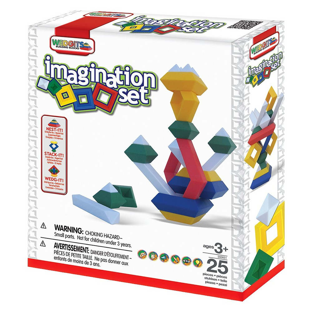Wedgits Imagination Series With 25pc Set