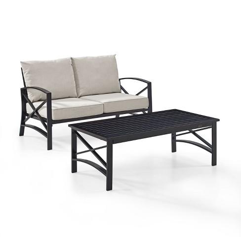 2pc Kaplan Outdoor Seating Set - Crosley - image 1 of 4